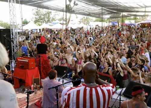 C.C. White - Soul Kirtan! (Bhakti Fest 4) (Photo by Elana Kundell